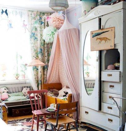 10 Idées de chambres vintages pour enfants