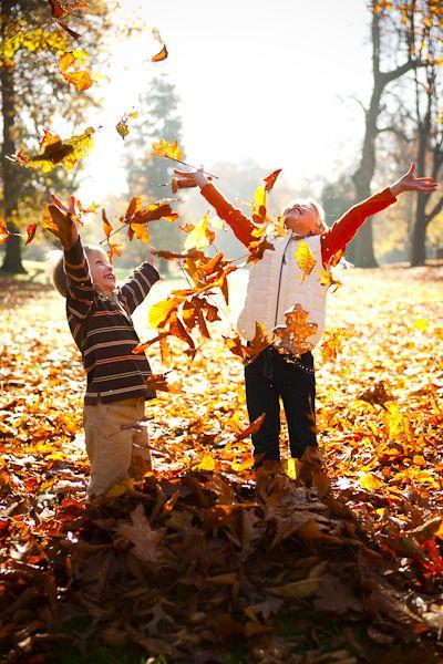 activités d'automne avec les enfants