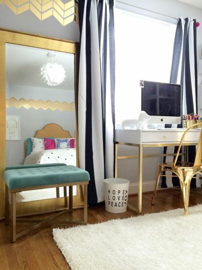 chambre ado fille quelques inspirations d co club mamans. Black Bedroom Furniture Sets. Home Design Ideas