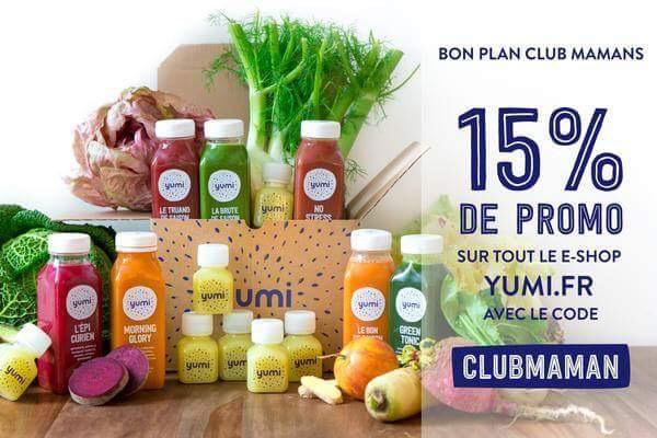code promo yumi