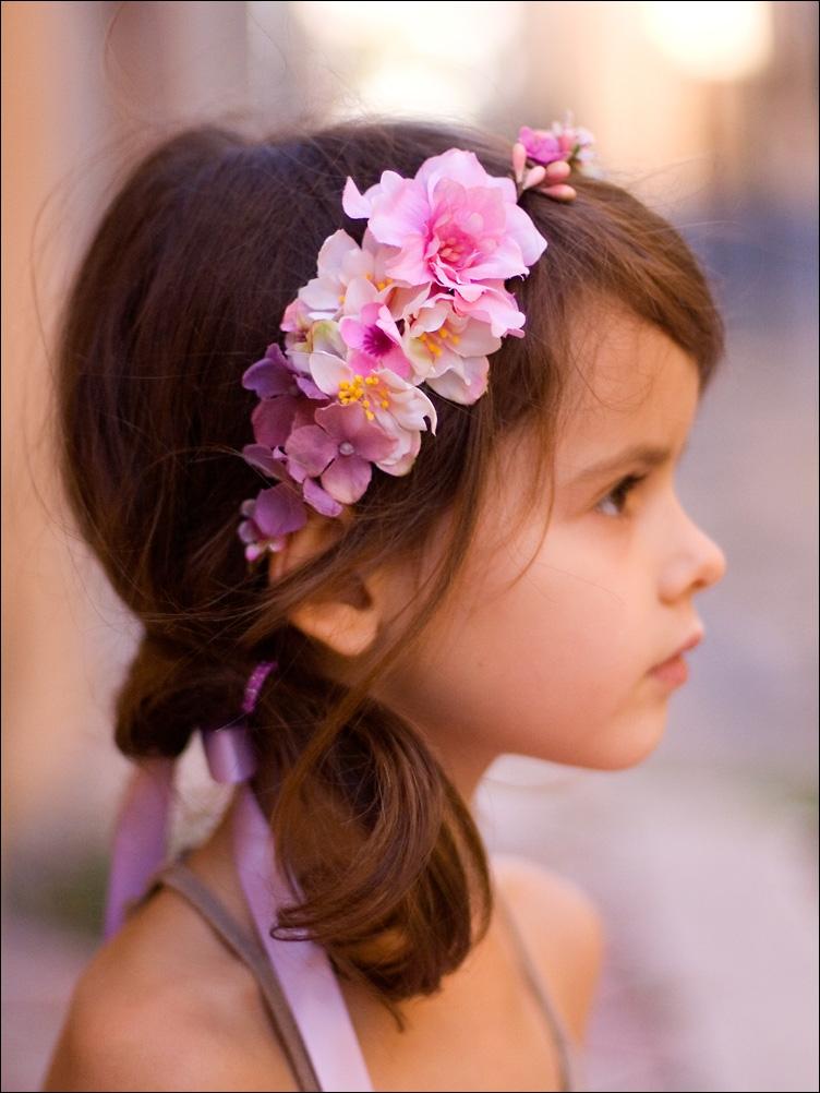 coiffure mariage pour petite filles : 8 idées pour s