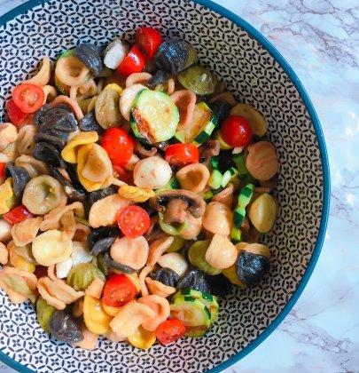 Salade de pâtes et légumes grillés : Une recette estivale !