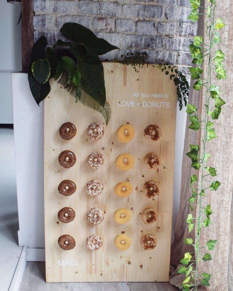 présentation donuts originale