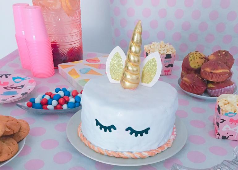 Gâteau Licorne Pour Anniversaire Féérique Ou Pas Club Mamans