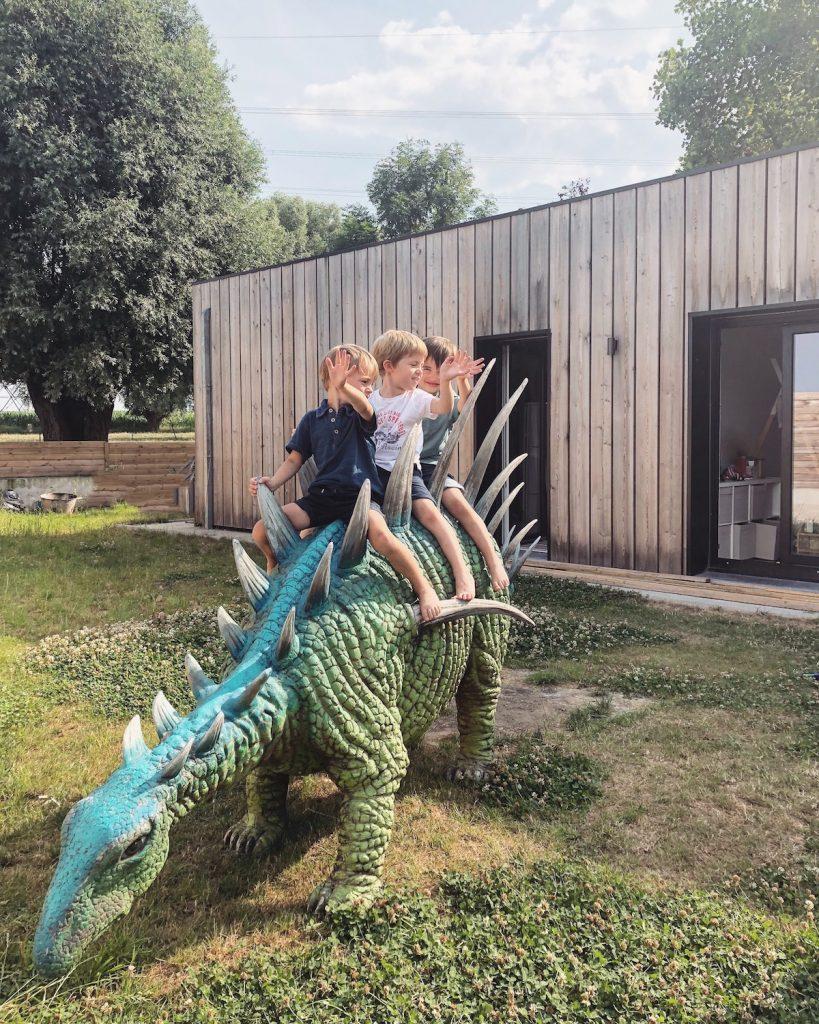 Anniversaire thème dinosaure