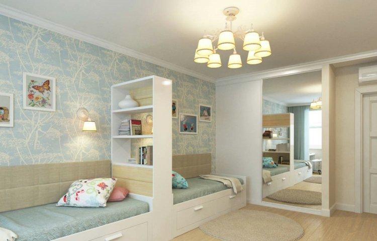 chambre deux enfants