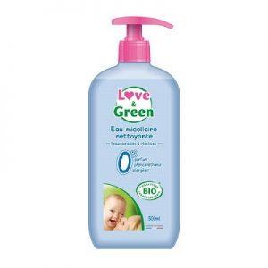 eau nettoyante bebe