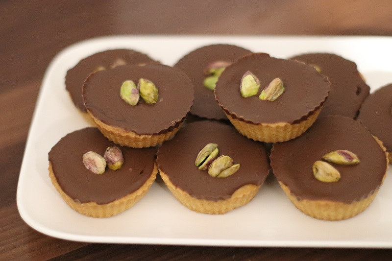 tartelette caramel chocolat