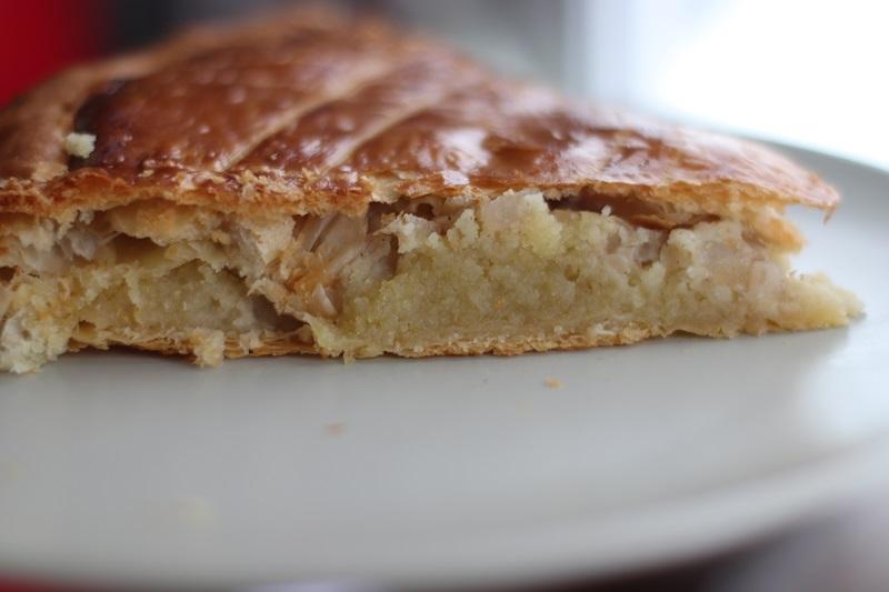 galette des rois amande poire vanille