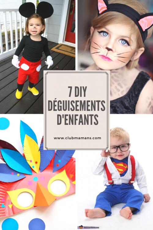 7 DIY Déguisements d'enfants