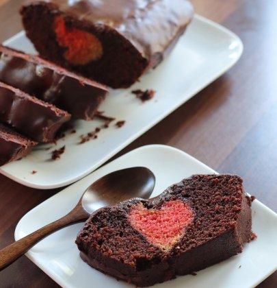 Cake coeur caché : un gâteau pour célébrer l'amour !