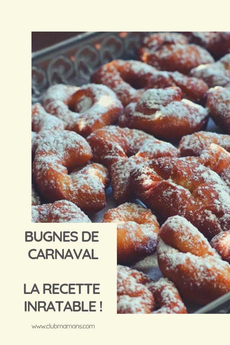 Bugnes de carnaval