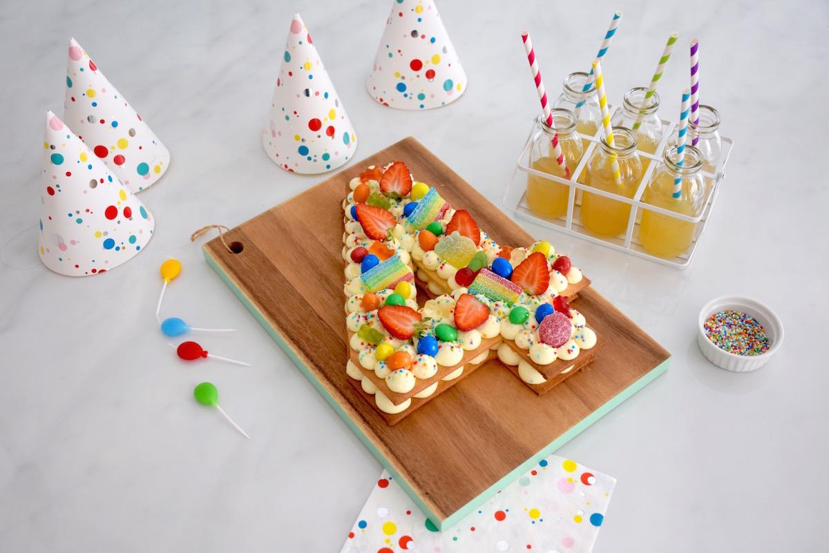 number cake enfant