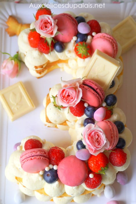 number cake chantilly