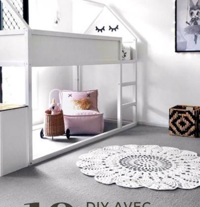 Kura Hacks : le lit Kura d'IKEA revisité en 10 DIY!