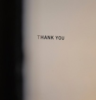 Un grand merci pour votre aide mais…
