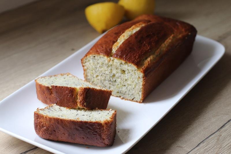 citron pavot cake