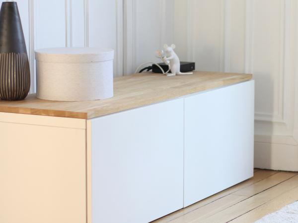 DIY – meuble TV scandinave