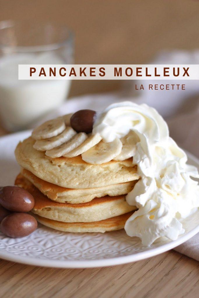 Recette pancakes moelleux fluffy