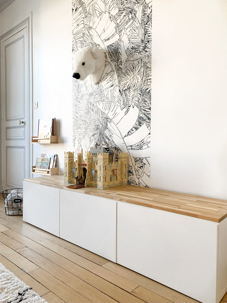 meuble tv scandinave diy