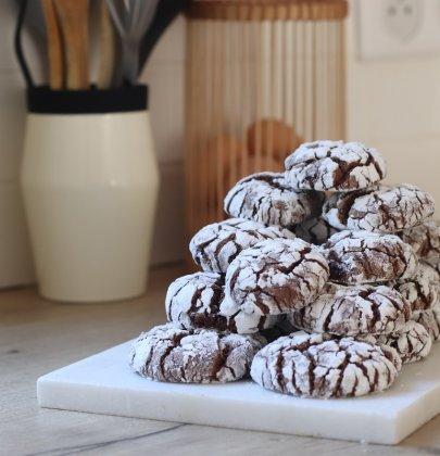 Crinkles au chocolat : des biscuits craquelés gourmands !