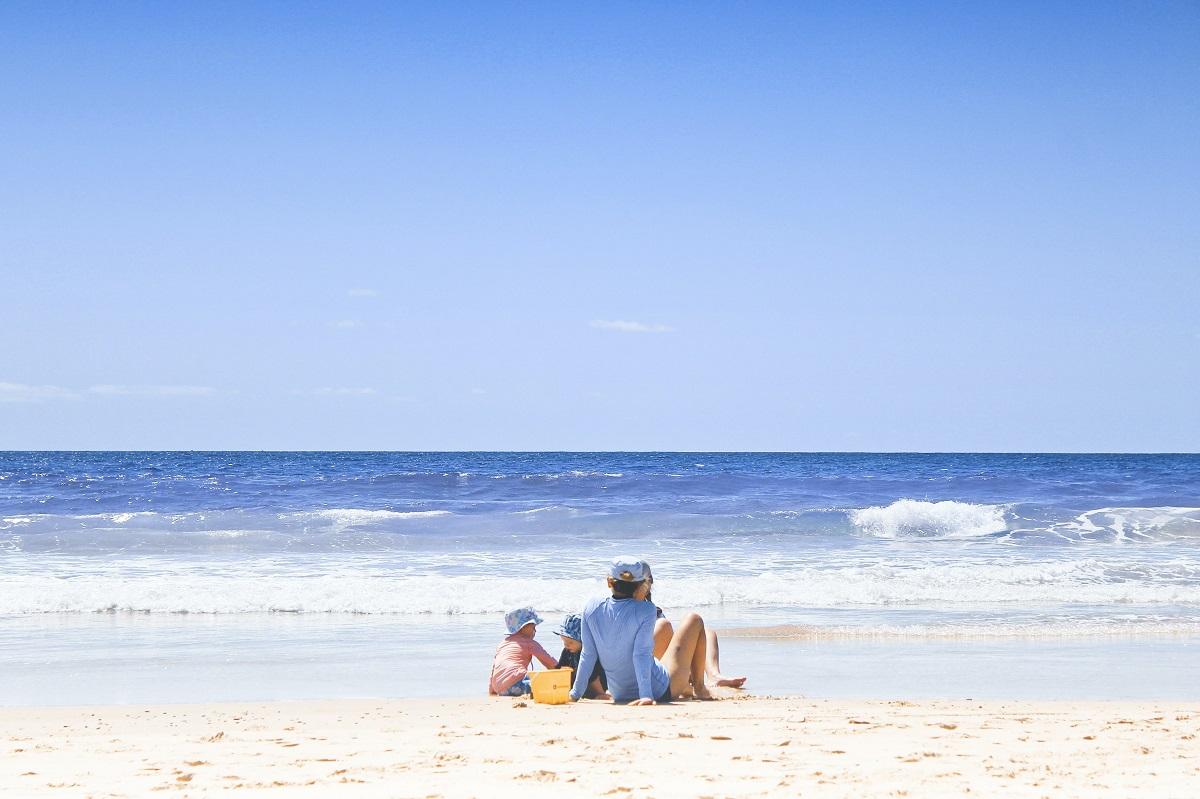 vacances avec les enfants